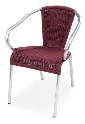 Cadeira de jardim de Metal Guiren Parte exterior de mobiliário de hotel