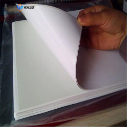 폴리탄산염 PVC 필름 물자 폴란드인 백색 인쇄할 수 있는 플라스틱 롤, ID 카드 인쇄를 위한 애완 동물 장