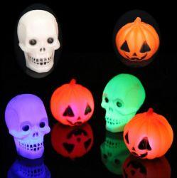 El gigante de alta Halloween calabazas hinchables con luz LED