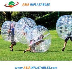 Cuerpo de bola Zorb transparente derechos Bubble Ball para el exterior