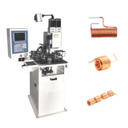 Vollautomatische Luftspule Wicklungsmaschine Kupferdraht Federtorsion Herstellung Von Induktivitätsmaschinen Für Die Feder-Magnetstange