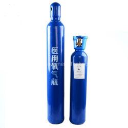 ISO9809 Wandstärke 5,2mm 5,8mm 10L 15L 40L 47L 50 L Medizinische Gasflasche Sauerstoffflasche O2 Tanks für Krankenhaus Und Heimnutzung