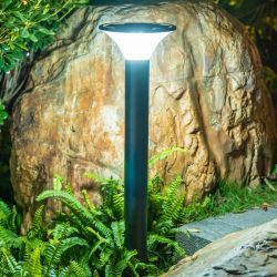 길을 위한 실외 가로등 LED 태양광 전원 정원 조명 잔디 파티오 야드 통로 길가 패스 코트야드 조명