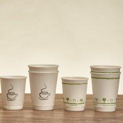 Double Wall Paper Cup voor eenmalig gebruik voor dranken