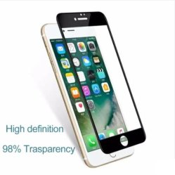 Nieuwste Silk Printing 2.5D Full Curved Tempered Glass Screen Protector Voor iPhone 5 5c 6 6plus