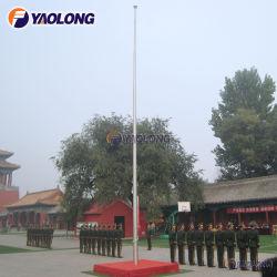 304 304L de aço inoxidável Halyard Externo pole para a Cerimônia de Banner