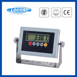 Affissione a cristalli liquidi 6-Digit di RS232 RS485 LED che pesa l'indicatore a distanza delle cellule di caricamento della scala del peso della visualizzazione