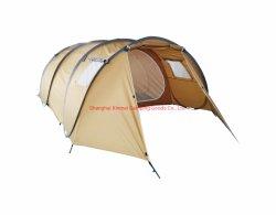 Zelt, kampierendes Zelt, im Freienzelt, schnelles Zelt oben knallen