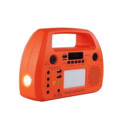 مصابيح LED مصباح خارجي محمول إضاءة LED داخلية تعمل بالطاقة الشمسية اللوحة الشمسية للنظام