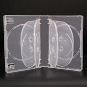 Caso di disegno pp DVD del supporto CD trasparente all'ingrosso della casella di Sunshing nuovo, multi DVD cassa dell'annullare 25mm per 10 dischi DVD