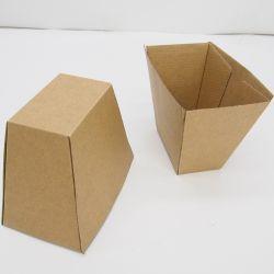 맞춤형 카르톤 프렌치 프라이를 가져갑니다 크라프트 종이 상자 음식 등급 패키지 제조업체