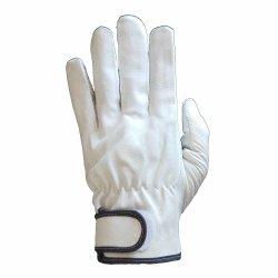 Водитель Pigskin прямо большим пальцем сверху качество зерна рабочие перчатки из натуральной кожи