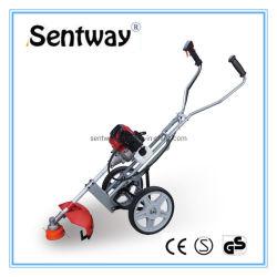 2 course professionnelle Sentway main brosse Push faucheuse avec 2 roues