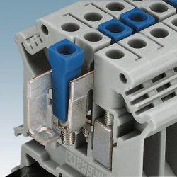 800V 57A 파란색 피드 - 단자 블록 커넥터를 통해 공급