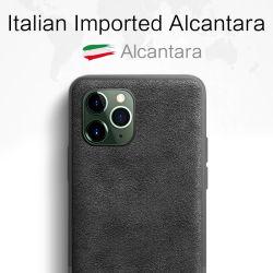 Sancore ?nderte Alcantara rückseitigen Aufkleber iPhone 11/PRO/Maxphone Fall
