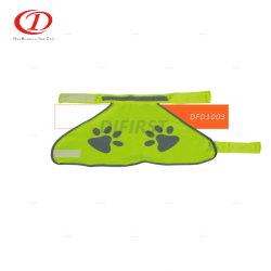 Gilet de haute Visibilitydog PET pour le PET Avertissement de sécurité