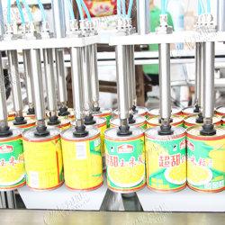 Bean automatique industrielle le maïs en conserve Jus de fruits orange fraise Jam Jar bouteille en verre de carton machine d'emballage Erector Machine d'étanchéité