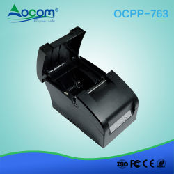 RS232自動カッターのQrコードPOSレシートドットマトリックスプリンター
