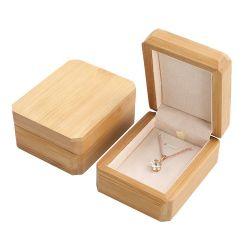 Webest Form-Ring-Ohrring-hängende Armband-Halsketten-hölzerne Schmucksache-verpackenkasten-Großverkauf
