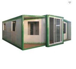 절연 지진 방지 대형 이동식 이동식 컨테이너 접이식 집 침실 2개