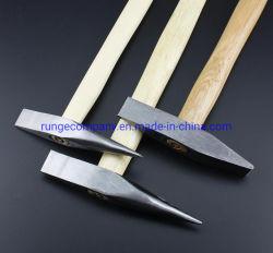Faible coût de haute qualité d'outils Weld-Cleaning manche en bois d'écaillage d'un marteau pour nettoyer rapidement et facilement l'Enlèvement des scories