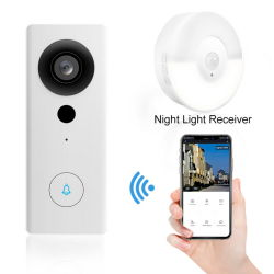 1080p 초인종 카메라 WiFi 비디오 도어 벨 카메라 무선 비디오 아파트용 도어 폰 인터콤 HD 링 WiFi 초인종 카메라