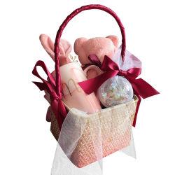 Handwoven Mand van de Gift voor de Met de hand gemaakte Opslag van het Verjaardagsgeschenk van de Verjaardag