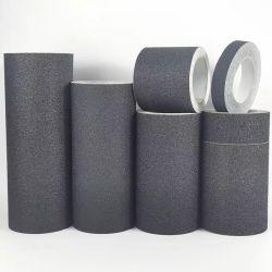 미끄러짐 옥외 까만 Anti-Slip 안전 테이프, 가장 높은 견인 강한 접착제