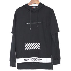 Custom/forma personalizada de impressão por sublimação térmica/Algodão Impressa/poliéster Pulôver Senhoras/mulheres/homens Blusa com capuz simples