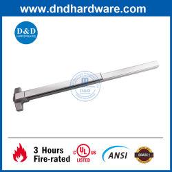 Roestvrijstalen 304 nooddeur voor branduitgang, conform ANSI UL-lijst Hardware Rim Panic Exit Device Accessory Fire Rated Lock Touch Duwstang