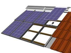 Isolamento térmico de alto vácuo para vidro temperado de volta BIPV Solar