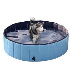 PVC 캣츠 도그머리 청소물풀 부유 장난감 뗏목 팽창식 애완동물 수영장