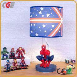 Die Nachtlicht-Kind-Spielzeug-Weihnachtsgeschenk-Schreibtisch-Lampen-Karikatur-Schreibtisch-Lampen-Studien-Tisch-Lampe des Rächer-Wunder-Comics-Eisen-Mann-Spiderman-Kapitän-Amerika LED für Kinder