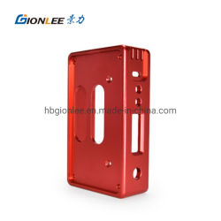 De Aluminio mecanizado Multi-Axis personalizada cigarrillo electrónico caja de aluminio