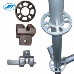 Hoher Grad-Stahl galvanisiertes Ring-Verschluss-Baugerüst-System
