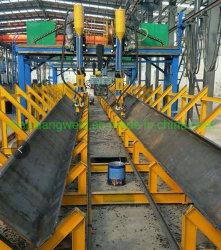 Тип опоры стальной конструкции H света сварочный аппарат по изготовлению линии