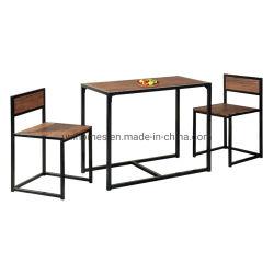 Unihomes piccolo stabilito della sala da pranzo delle 3 parti per la noce del ristorante della cucina
