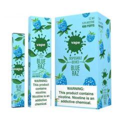 Saludable de fumar Cigarrillo Electrónico Desechable 400 inhalaciones desechables Pop Vape
