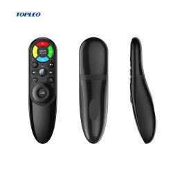Q6 Film de la souris de l'air 2.4G W1 Fly Air Souris pour Smart TV rétroéclairé Commande à distance de la souris de l'air