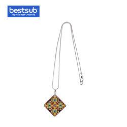 Bestsub Sublimation-Quadrat-Shell-Halsketten-Form-Schmucksache-Geschenk (30*30mm)