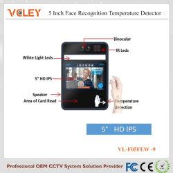 Testa precisa ir Fronte Termômetro digital de medição com o ecrã LCD da câmara de temperatura do Laser