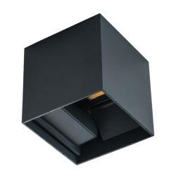 빔 각도 조절 가능 LED 실외 프로젝트 LED 벽 조명 켜짐 Down COB Light IP54 벽 램프 알루미늄 다이 주조 LED 벽 조명