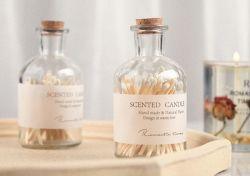 Vintage cigarro madera cerillas velas