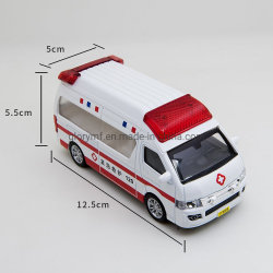 Литой 12см модель автомобиля/ Аварийный автомобиль 120 Toy Car с литой