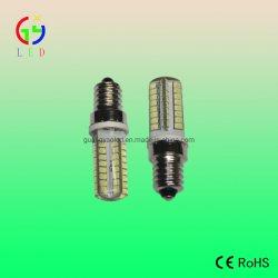 Nuevo LED E14 64SMD 2835 2.1W Nevera lámpara, LED E14 bombilla con cubierta de gel de silicona, LED E14 Bombillas europeos