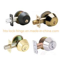 Deurmeubilair Hardware buisvormige hendel slot Deadbolt rond met sleutel en Cilinder voor invoer aan één zijde van staal, ijzer of aluminium, zink Legering