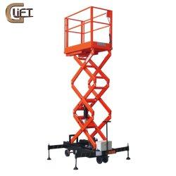 Гидравлический подъемный стол ножничного типа платформы Semi электрический повышенной рабочей платформы антенны подъемной платформы (SJY Панели управления)