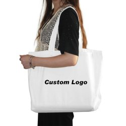 맞춤형 판촉 토트백, PP 비 우븐 쇼핑 식료품 캔버스, 유기농 면지 어깨, 플라스틱 종이 패션 재활용/재사용 가능 백, 맞춤형 로고 선물 백