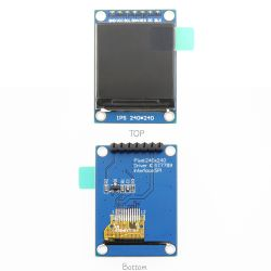 Resolutie 240 van 1.3 Duim * LCD van Interface 240 Spi IPS van de Raad van de Bestuurder Module Al Hoek van de Mening