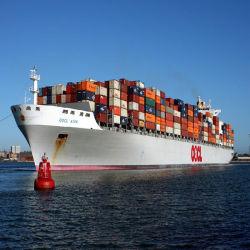Mare pieno del contenitore di DDP/DDU che spedice nei Paesi Bassi